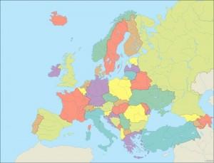 Europe City maps