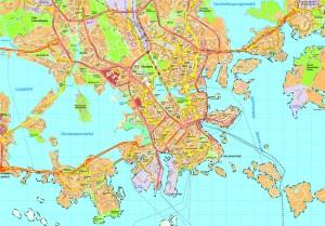 Helsinki map
