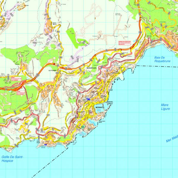 Monaco map