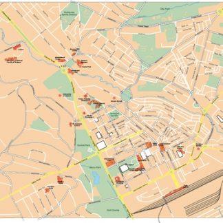 nairobi vector map