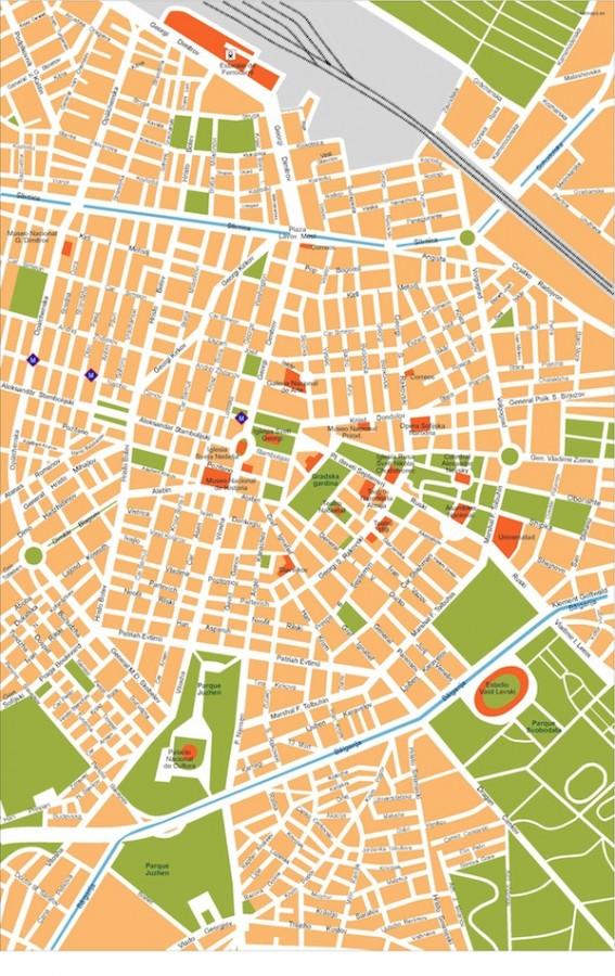 sofia vector map