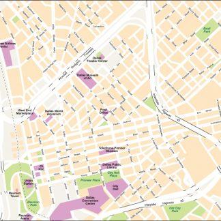 Dallas City map