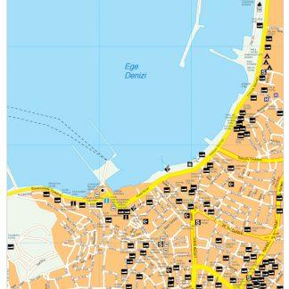 Kusadasi map