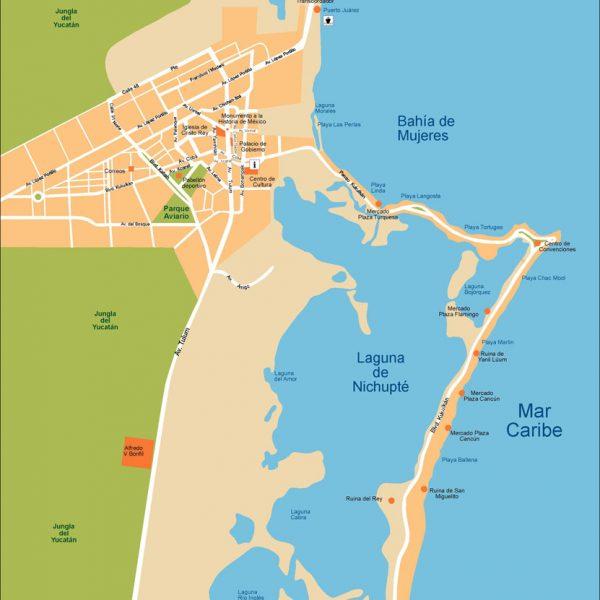 Cancun Vector Map on south america map, world map, mexico map, merida map, yucatan map, caribbean map, xcaret map, cabo san lucas map, playa del carmen map, machu picchu map, central america map, cozumel map, puerto vallarta map, acapulco map, belize map, isla mujeres map, quintana roo map, tulum map, la paz map, riviera maya map,