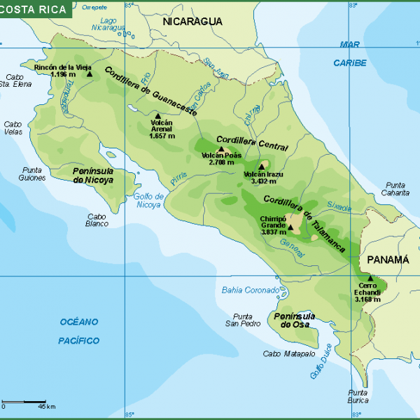 central america vector maps vector eps. Download our digital ...