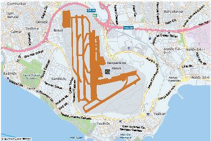 Istanbul Airport Map